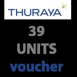 THURAYA Prepaid 39 Units...