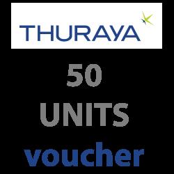 Thuraya Prepaid 50 Units...