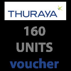 THURAYA Prepaid 160 Units...