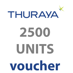 Thuraya Prepaid 2500 Units...