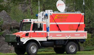 Rettungsorganisationen mit KA-Sat zum Continuity Services