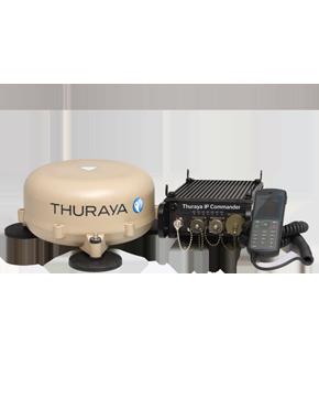 MIeten Sie den Thuraya Commander bei satellite telecom