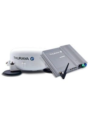 Thuraya Voyager mieten. Satcom on the move